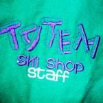 Retro Ski Jacket worn by MANU... Celebrating 100years of Totem Ski Shop!